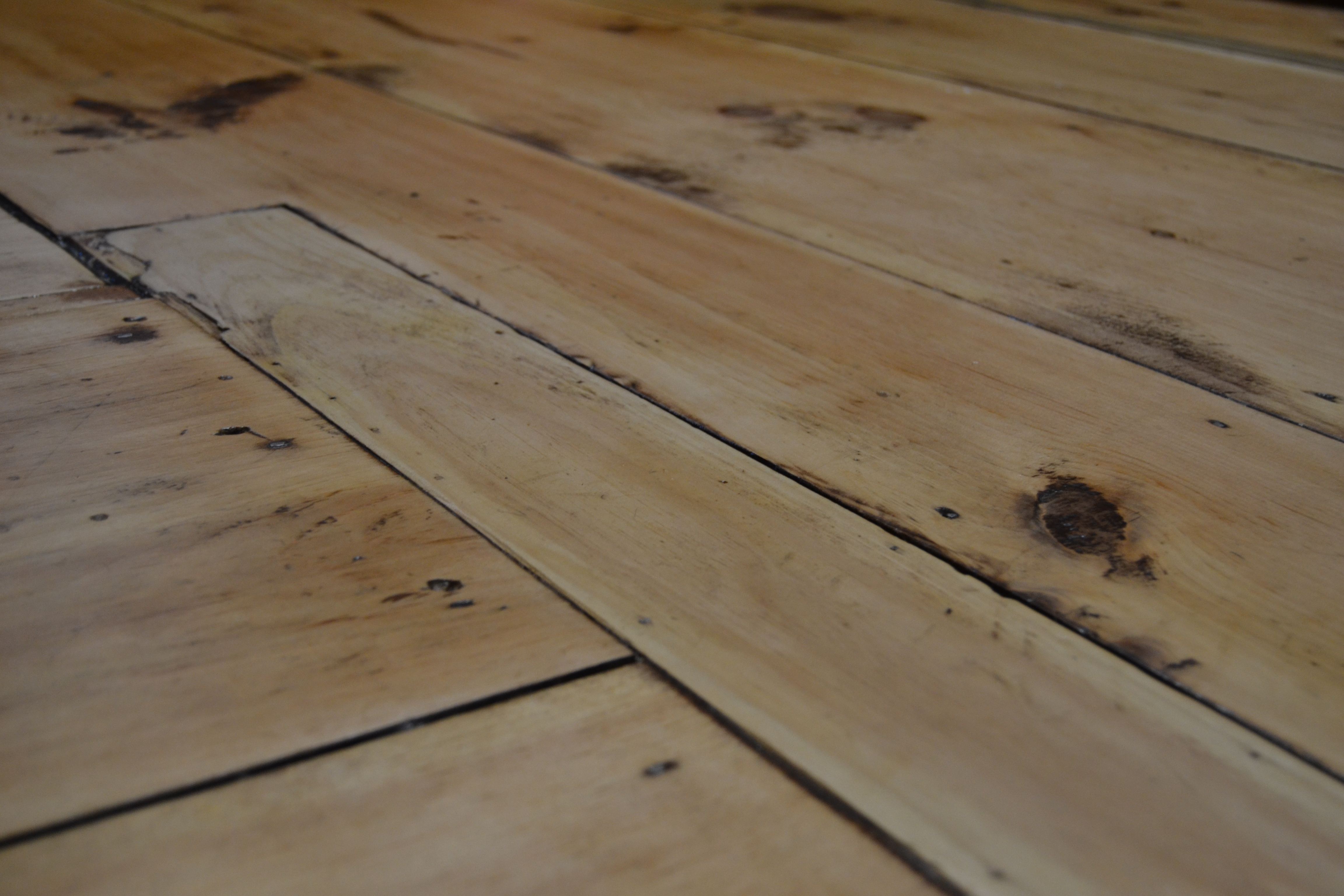 This Old Wide Plank Flooring Was Worth
